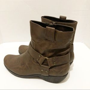 Aerosole Brown Destiny Ankle Boots